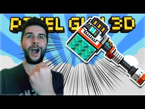 WE SQUASHED EVERYONE! SUPER POWERFUL JET TENDERIZER!! | Pixel Gun 3D