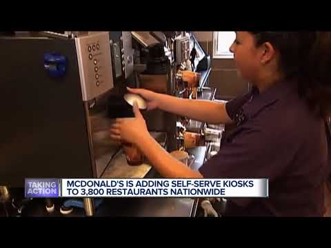 McDonald's to implement touch-screen order kiosks