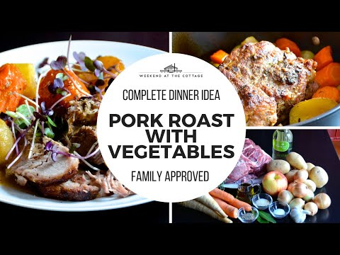 Tender ROASTED PORK SHOULDER WITH VEGETABLES recipe!