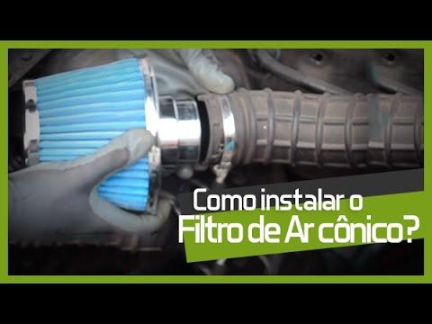 Como instalar um Filtro de Ar Cônico? - Faça Você Mesmo DIY