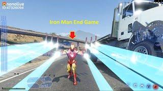 GTA 5 Mod - Người Sắt Iron Man Endgame Náo Loạn Thế Giới (Mod Ironman Mới!)