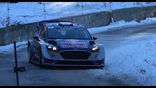 Rallye Monte Carlo 2017 shakedown snow and show