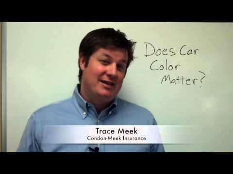 Does Car Color Matter?