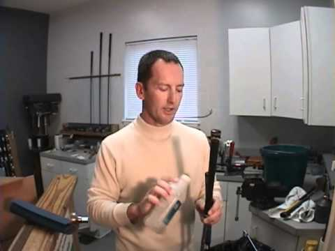 How to Clean Golf Club Grips: Golf Club Repair Lesson by Herman Williams Golf