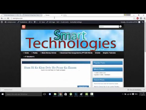 how to change tab icon favicon on your website easiest and quick way