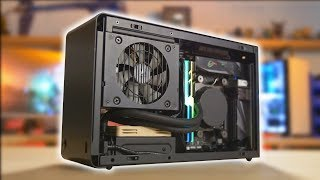 The smallest water cooled PC I