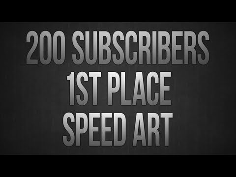 200 Subscribers Contest - 1st Place Speed Art