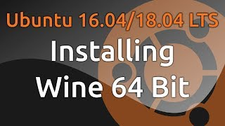 How to install latest Wine 32 or 64 bits (to Run Windows
