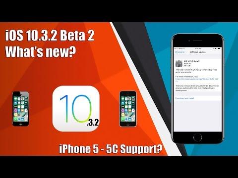 iOS 10.3.2 Beta 2 - What's New?