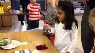 The Science in Thanksgiving: Kindergarten 2013
