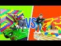 PRESTON Vs UNSPEAKABLE LEGO HOUSE BATTLE
