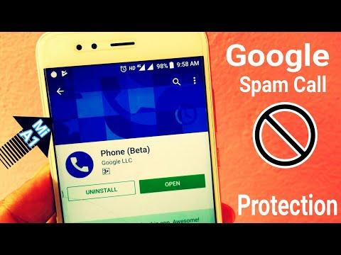Google Spam Call Protection On Xiaomi Mi A1 | Phone BETA