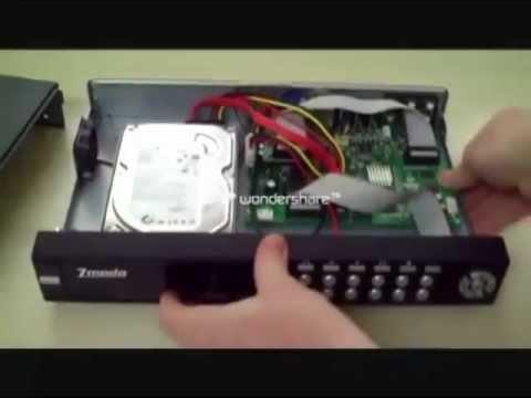 DVR Hard Drive Installation for CCTV Surveillance Cameras