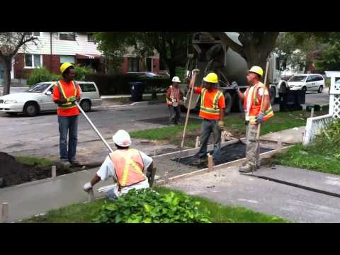 How to make a sidewalk in 13mn