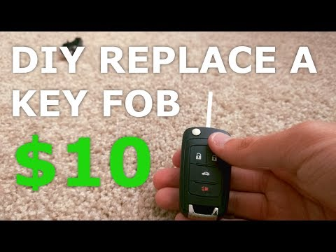 DIY Replacement of a Chevrolet Key Fob! (Camaro, Cruze, Equinox, Malibu)