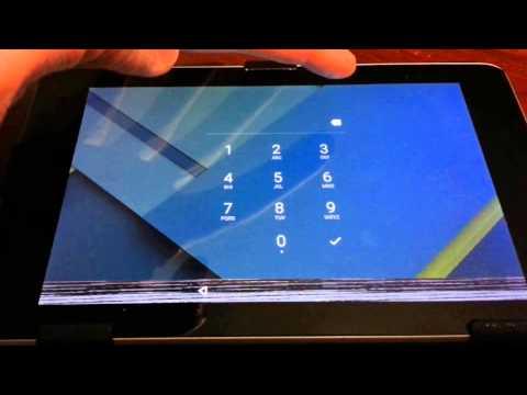 Android 5 Lollipop lock screen issue on Nexus 7