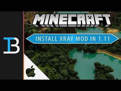 How to Install X-Ray Mod in Minecraft 1.11 on a Mac (See Through Blocks in Minecraft 1.11 for Mac!)