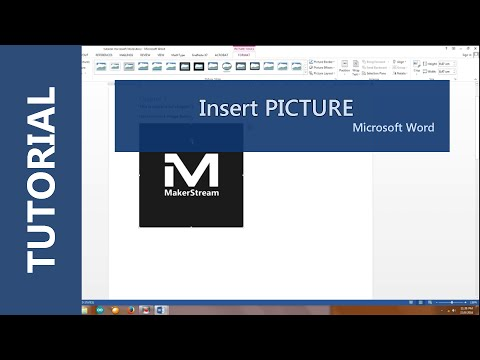 How to inset picture in Microsoft Word