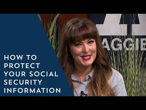 3 Tips on How to Protect Your Social Security Information