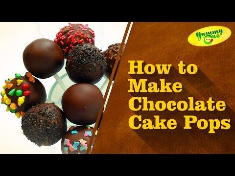 How To Make Chocolate Cake Pops | Telugu Recipes | Indian Recipes - YummyOne