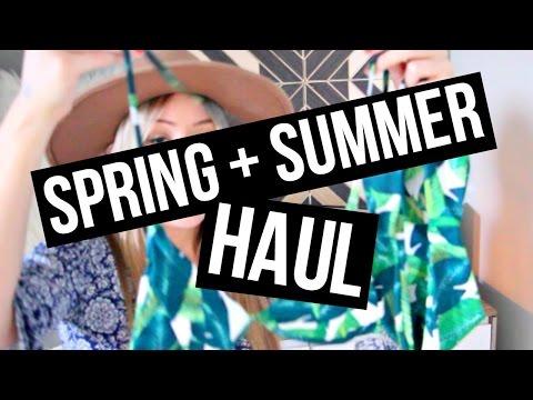 SPRING + SUMMER HAUL ft. Abercrombie, SheIn, SmartBuyGlasses