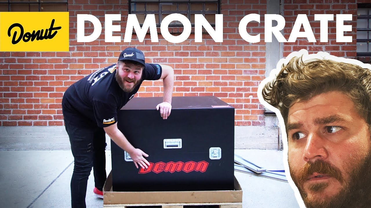 Dodge Demon Crate Unboxing! | The New Car Show