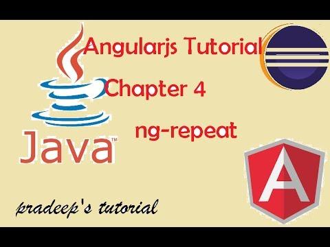 Agularjs ng-repeat tutorial | Example of ng-repeat directive | ng-repeat in angularjs