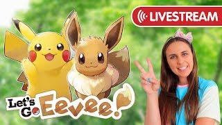 SABRINA PSYCHIC GYM, ERIKA GRASS GYM & EXPLORING! Pokémon Let