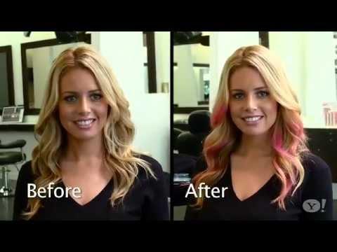How To Get Colorful Hair Like Your Favorite Stars - OMG Yahoo & Jennifer J.