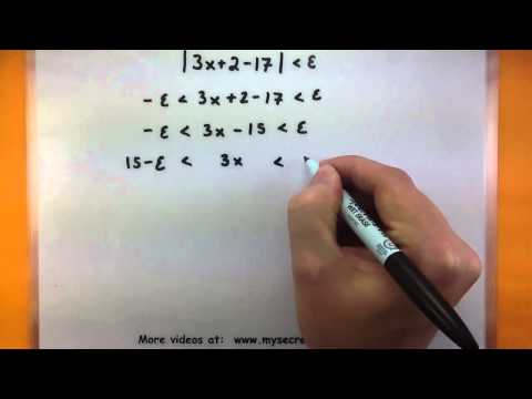 Calculus - Find the limit of a function using epsilon and delta