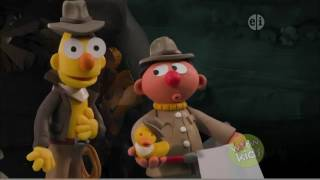 Bert and Ernie's Great Adventures   S01E15   Raiders of the Lost Duckies