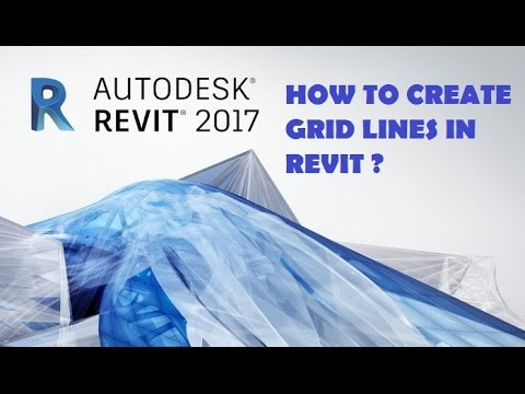 05-HOW TO CREATE GRID LINES IN REVIT WITH AUTOCAD DRAWING ? (TELUGU)