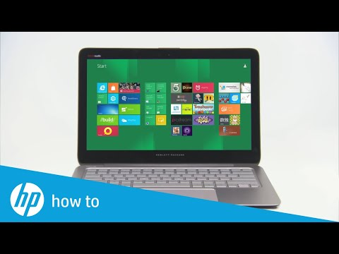 Using the Control Zone Trackpad on the HP Envy Notebook