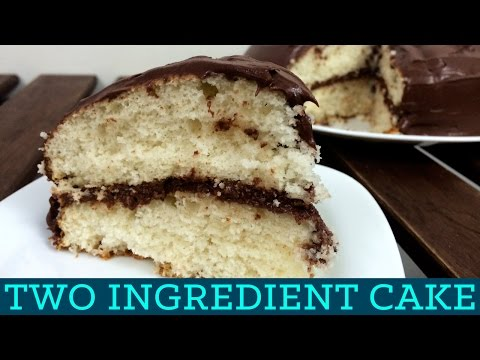 How To Make 2 Ingredient Cake! - Two Ingredient Takeover S01E06