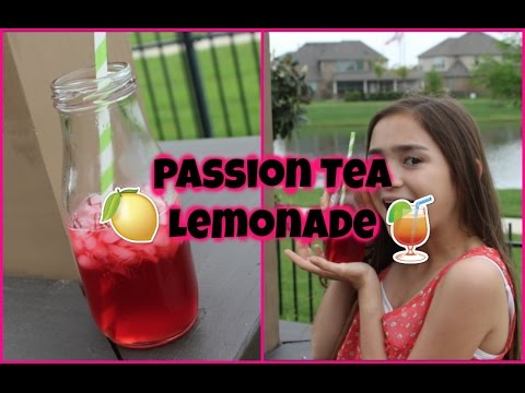 DIY Starbucks Passion Tea Lemonade | Tuesday Tips