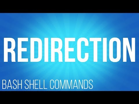 BASH Shell commands redirection ( commands for linux )