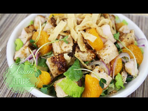 Oriental Chicken Salad Recipe 🥗