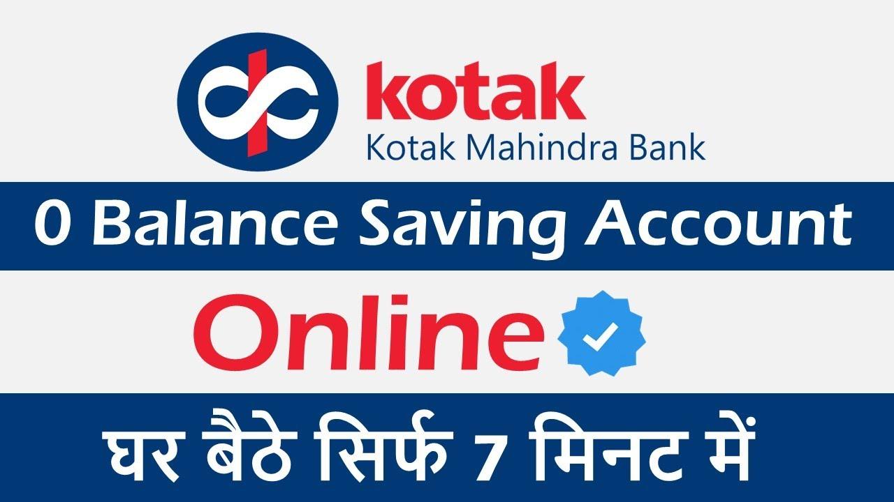 Download Kotak Mahindra Bank Zero Balance Account Opening   Kotak New Bank Account Open Within 5 Minute MP3 Gratis