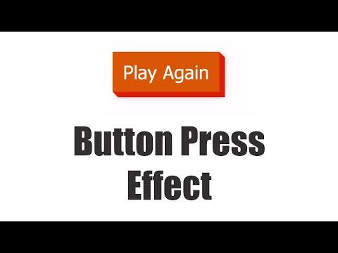 CSS Applications Tutorial 10 | Button Press Effect | Final video