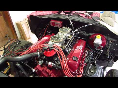 Lincoln Continental Mark III - Ford V8 460 - First Start up