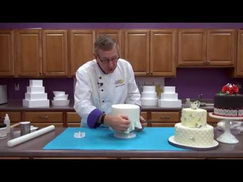 How to Cover a Cake Dummy