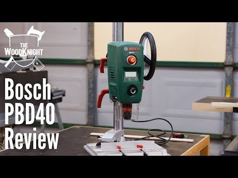 Bosch PBD40 Drill Press Review