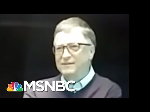 Bill Gates Dishes About President Donald Trump Meetings In Exclusive Video | All In | MSNBC