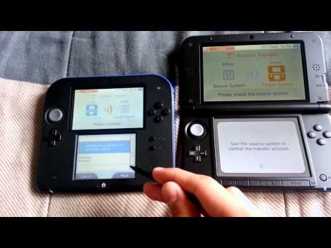 System Transfer from Nintendo 2DS to 3DS XL