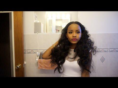 Hair | Bantu Knots on Weave