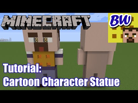 Minecraft Tutorial: Character Statue