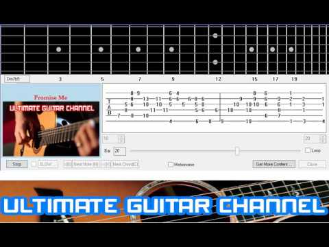 [Guitar Solo Tab] Promise Me (Beverly Craven)