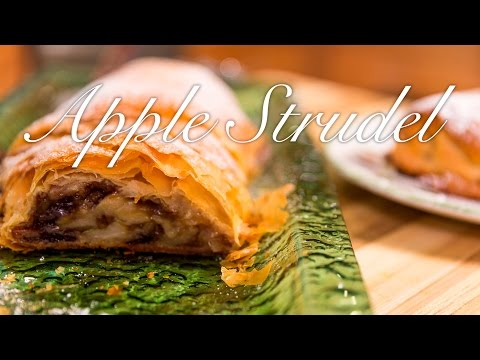 Easy Apple Strudel - Made with Phyllo Dough