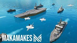 4 Hour Build CHALLENGE! - Naval Fleet | Fortnite Creative