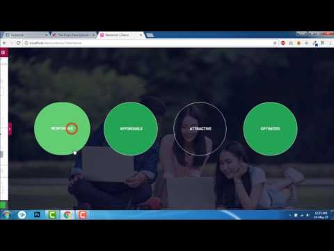 How to design circular button  -  Elementor Tricks